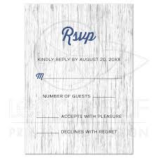 Invitation Reply Card Nautical Anchor On Rustic Wood Wedding Rsvp Reply Card