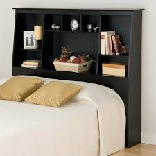 luxury full size bed frame with bookcase headboard 68 with