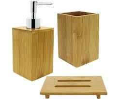 accessoire salle de bain orientale miroir de salle de bain bambou meuble vasque bambou salle de