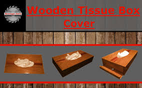 wooden tissue box cover youtube