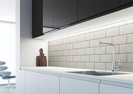 kitchen led lighting ideas sensio s arrow slim profile sls led light lighting