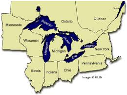map of michigan lakes teach questions answers great lakes map