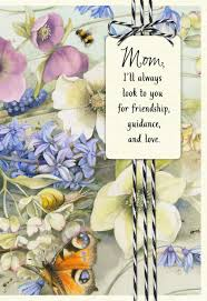 marjolein bastin i look up to you birthday card for mom greeting