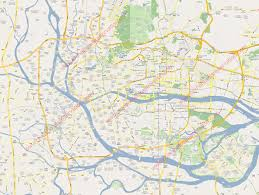 map images city map of guangzhou hotels linkable on the map