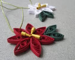 tree ornaments quilling ornament
