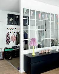 interesting diy decorative room divider design ideas with glass