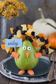 edible thanksgiving turkey place card or centerpiece the year