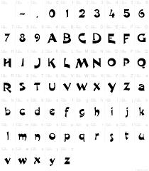 r1999 font