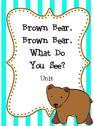 bear brown bear coloring pages