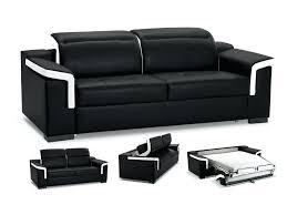 canapé noir et blanc conforama canape lit noir balkarp canapac lit canape loft convertible noir