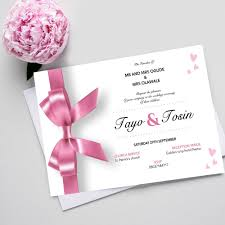 Wedding Invitation Cards In Nigeria Greetings World U2022 Personalised Cards And Gifts
