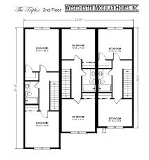Multi Family House Plans Triplex Multifamily Home The Triplex Builder U0027s Plan Westchester
