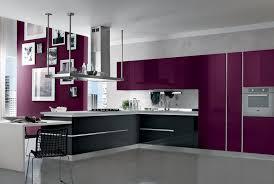 cuisine mur aubergine mur aubergine et gris awesome excellent formidable cuisine blanche