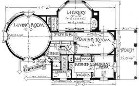 cottage floor plans turreted tudor cottage 11605gc architectural designs house plans