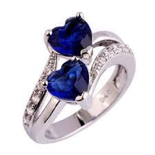 blue gemstones rings images Best blue topaz gemstone rings products on wanelo jpg
