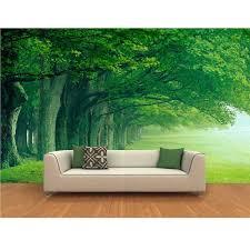 green trees wallpaper home decor european large murals wallpaper