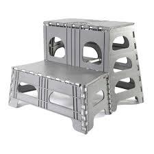 folding 2 step stool easylife group