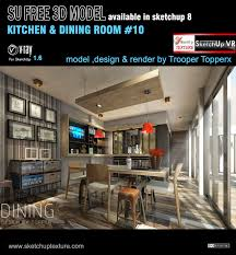 Sketchup by Sketchup Texture Sketchup Model Kitchen