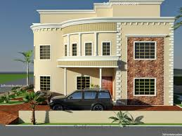 Design House 3d House Front Elevation Design For Double Floor Theydesign Net