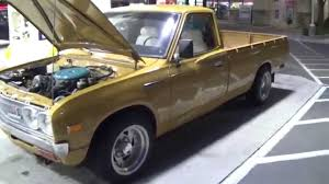 datsun pickup prt 4 datsun 620 pickup truck long bed dropped youtube