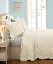 Ivory Quilted Bedspread Bedroom King Size Quilted Bedspreads King Bedspread