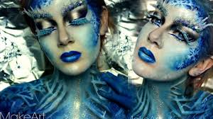 ice queen makeup entry to urbandekaybabe u0027s contest halloween