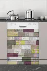 cuisine lave vaisselle du monde sticker spécial lave vaisselle
