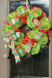 christmas mesh wreaths make a christmas mesh wreath miss kopy
