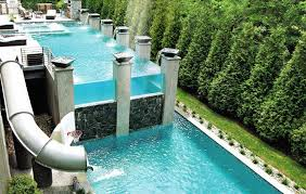 contemporary above ground pools designs unique pool ideas with