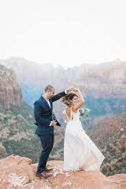 utah wedding photographers zion overlook wedding daniel utah wedding