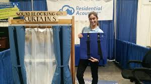 home u0026 garden show new soundproofing curtains help those unable