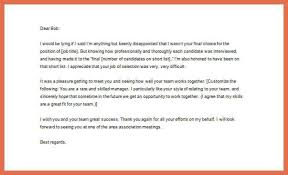 thank you letter after interview bio example