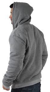 moda essentials men u0027s sherpa lined zip up hoodie sweatshirt big