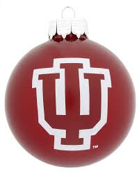 indiana glass personalized ornament