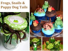 frog baby shower it s a boy frogs snails puppy dog tails baby shower stylish