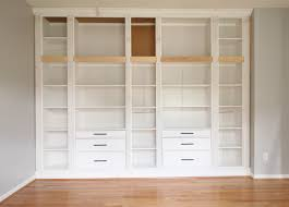 white high gloss bookcase diy built in bookcase reveal an ikea hack u2013 studio 36 interiors