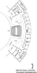 Floor Plan Database Ciputra Artpreneur Benoy Concert Hall Architecture And