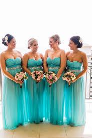 bridesmaids wedding dresses best 25 aqua blue bridesmaid dresses ideas on aqua