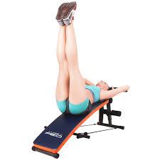 feierdun workout abdominal adjustable sit up bench abs workout