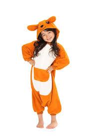 giraffe halloween costumes amazon com kangaroo kigurumi all ages costume clothing