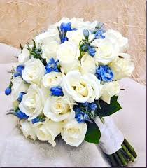 wedding flowers blue and white best 25 blue bridal bouquets ideas on bridal bouquets