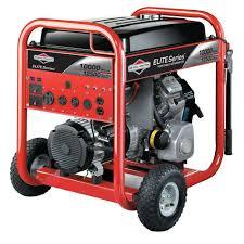 Briggs U0026 Stratton Elite Series 10 000 Watt Gasoline Powered