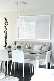 dining room with banquette seating dining room banquette grey banquette bench tufted l shaped