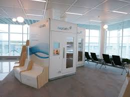 Sleeping Pods Airport Sleep Pods Are Here For Stranded Passengers Todayonline