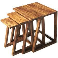 Modern Wood Furniture End Tables Woodwaves