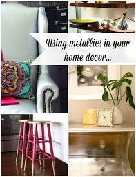 uncommon home decor metallic home decor ideas uncommon designs