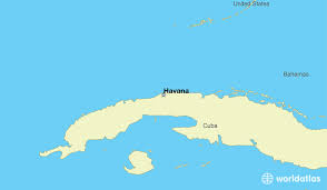 world map of capital cities where is cuba where is cuba located in the world cuba map