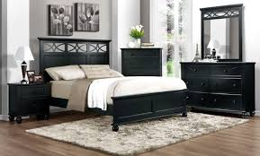bedroom impressive black bedroom sets full size elegant