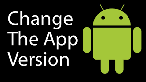 android apk version how to change the app version in android studio app lab
