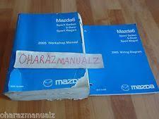 mazda 6 service manual ebay